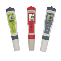 Digital PH TDS EC Meter Temperature tester Filter Measuring Water High Quality Purity Tester for pool aquarium 20%off