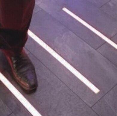 2015 New Hot Sale Waterproof Tiles Ground High Slim Aluminum Profile 50x2m Floor Lighting For Epistar12v Led Strip Light ALP034 In LED Strips From Lights