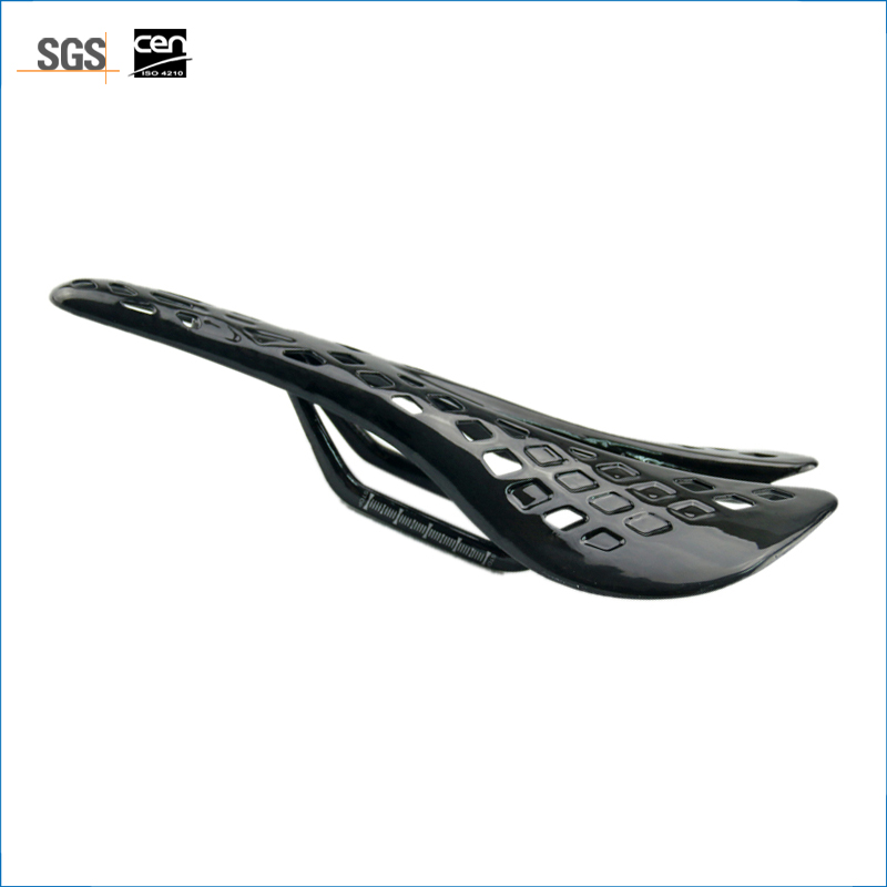 Full Carbon Fiber Mountain Bike Saddle Carbon Bicycle Saddle Road Front Seat Matt MTB Part Free Shipping Glossy 115g newest raceface next sl road bike ud full carbon fibre saddle spider web mountain bicycle front seat mat mtb parts free shipping