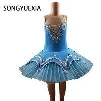 2017 New Kid Professional Swan Lake Ballet Tutu Ballet Dress For Children Ballerina Dress Kids Ballet