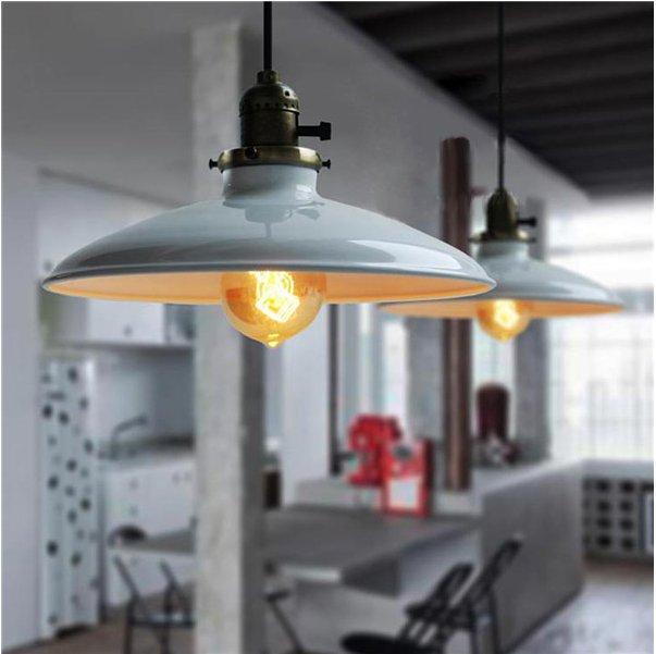 Loft Retro Industrial Iron Vintage Iron Pendant Lamp Fixture  e27 edison indoor lighting