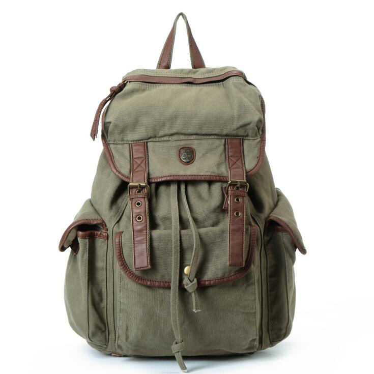 New Vintage Backpack Women Canvas Shoulder Bag Men Backpack Multi-color Leisure Travel Bags Unisex Backpacks B-01-70