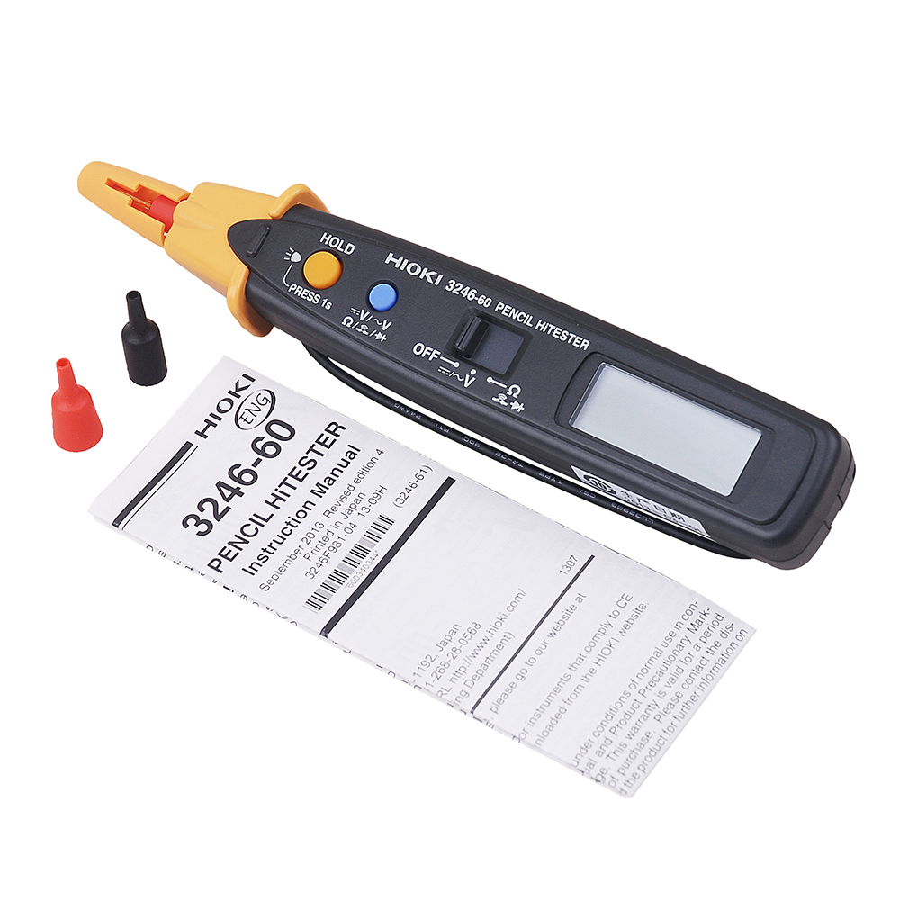 Hioki 3246-60 DMMs Pocket Pen-type Portable Pencil Digital LED light Multimeter for Electrical Test цена