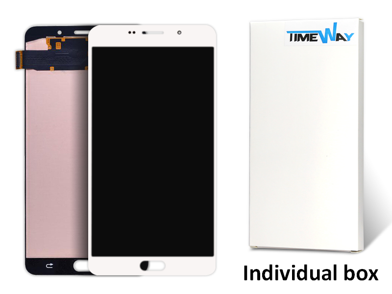 DHL 10pcs LCD Display Touch Screen Digitizer Assembly Replacement Parts For Samsung Galaxy A9 A9000 With Logo , Free Shipping 10pcs free dhl oem no spot quality 10 1 lcd display with touch screen panel digitizer assembly for samsung galaxy note n8000