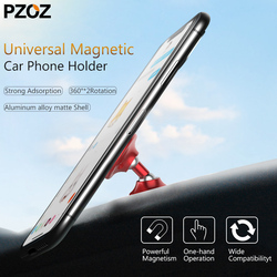 PZOZ universal car holder 360 degree magnetic car phone cellphone mobile smartphone magnet holder support for iphone samsung