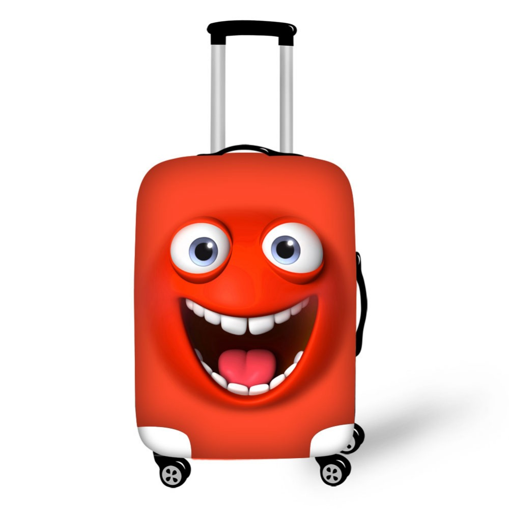 Expression Print luggage protector cover suitcases covers Waterproof luggage covers accessory bags travel trolley case cover
