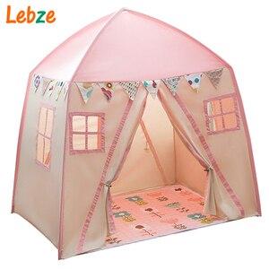 Игровой домик для детской комнаты, большая портативная детская палатка с вигвамом, для помещения и улицы, холст, Вигвама, игрушка, детская па...