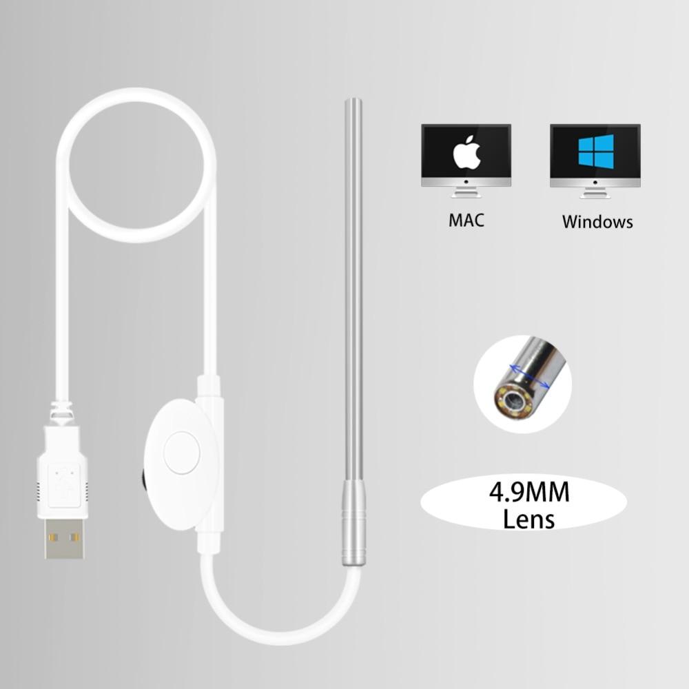 Medical Endoscope Camera 4.9MM lens Mini Waterproof USB ...