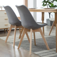 Ткань Comedores современный Muebles домашний стул для столовой задний офисный стул креативный твердый деревянный Северный стул