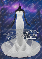 Sailor Moon Queen Serenity Cosplay Costume Beautiful Crystal Halloween Uniform Party Dress Outfit Custom made
