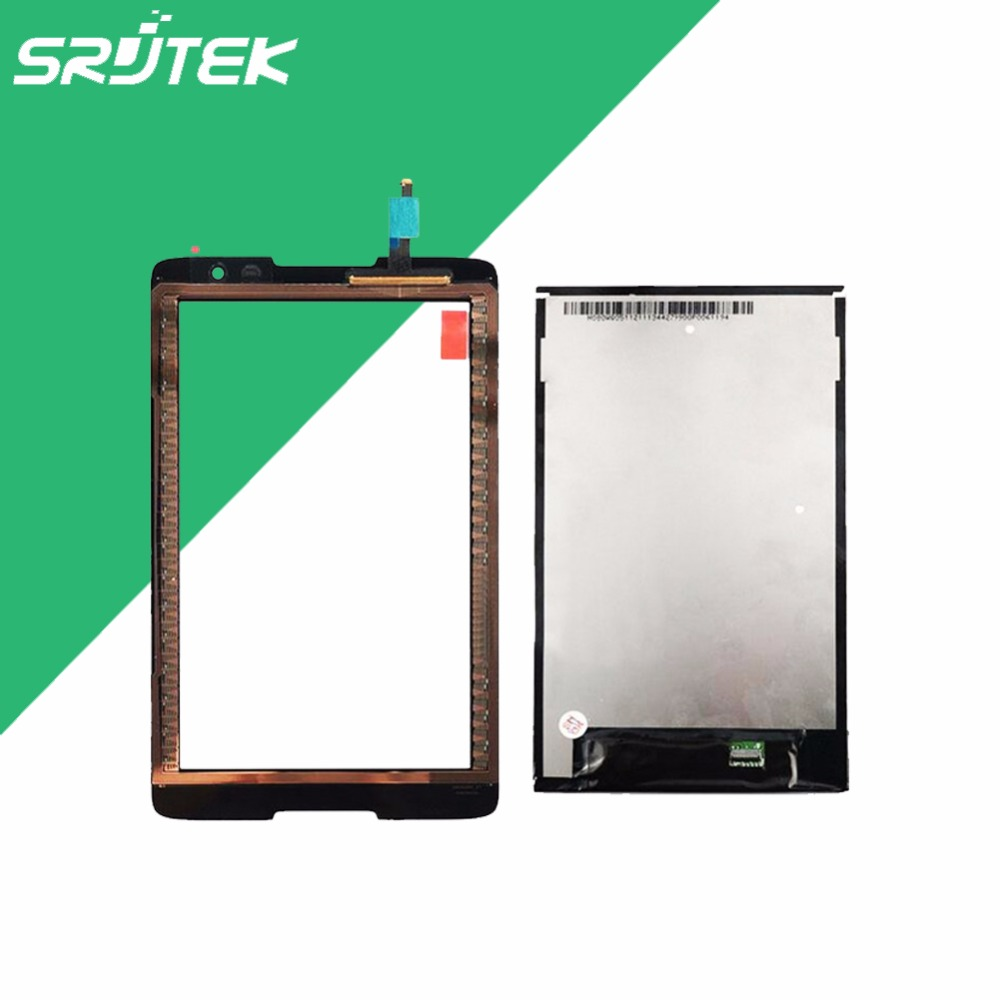 ФОТО For Lenovo IdeaTab A8-50 A5500 LCD Display Panel Screen Monitor with Touch Screen Digitizer Glass Sensor 100% Test Before Ship