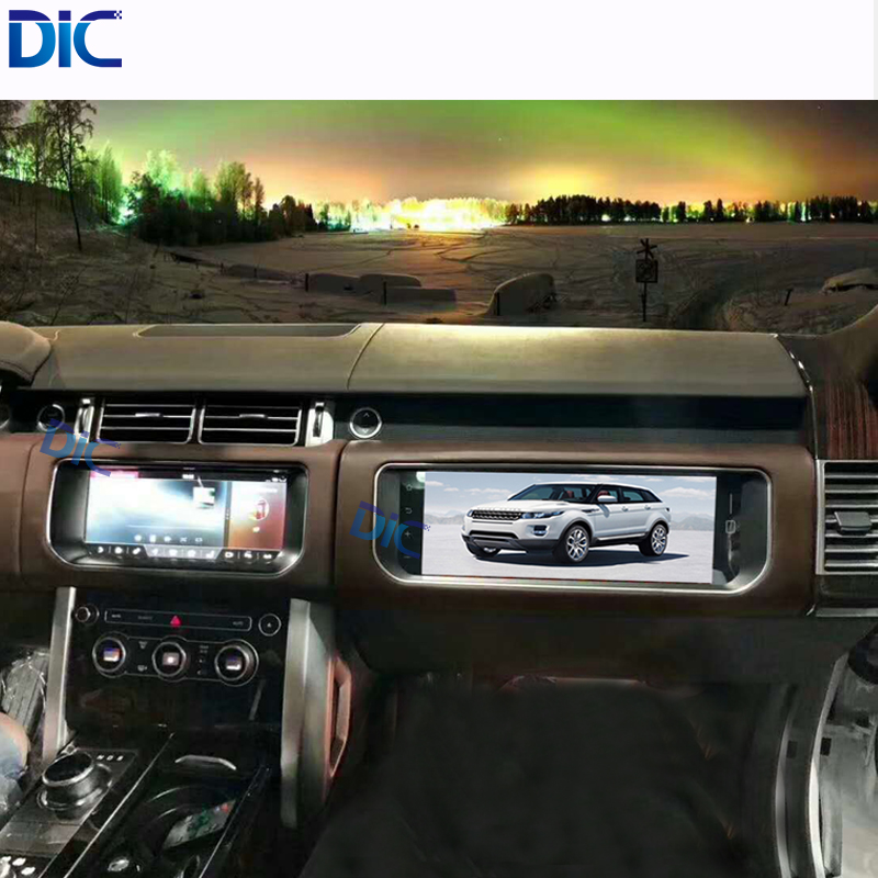 DLC Full touch screen <font><b>5</b></font> colors <font><b>12</b></font> inch entertainment monitor Android First officer copilot for Land Rover Range Rover vogue image