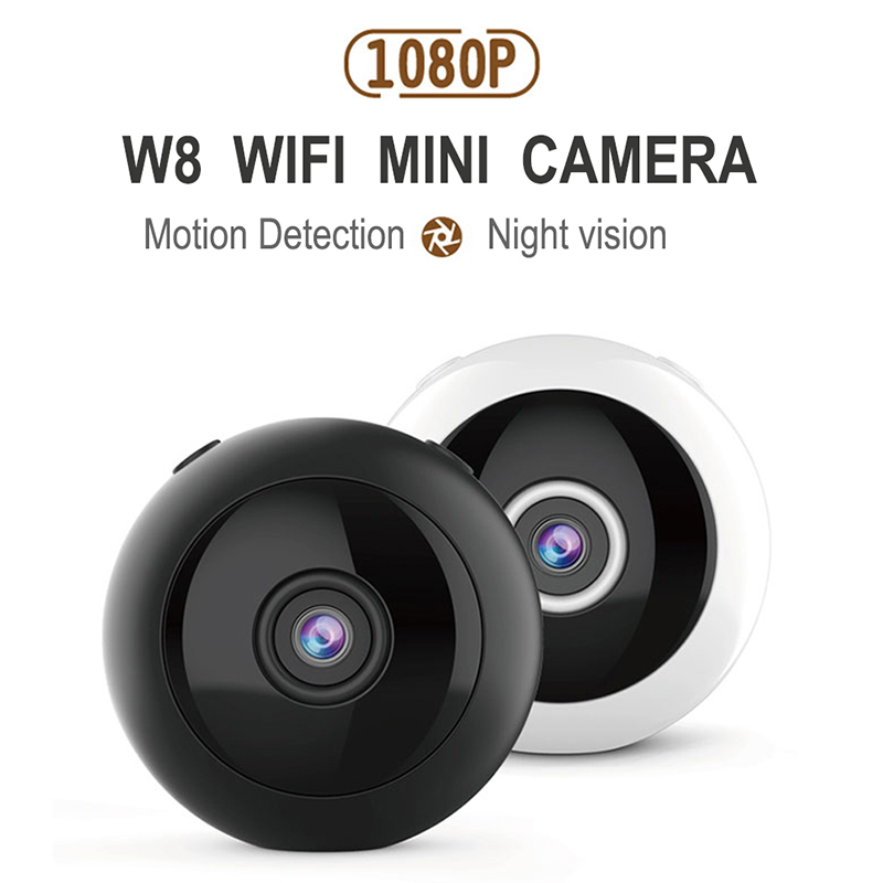 W8 HD 1080P Mini Camera wifi Infrared Night Vision Micro Camera Wireless IP video Camera Motion