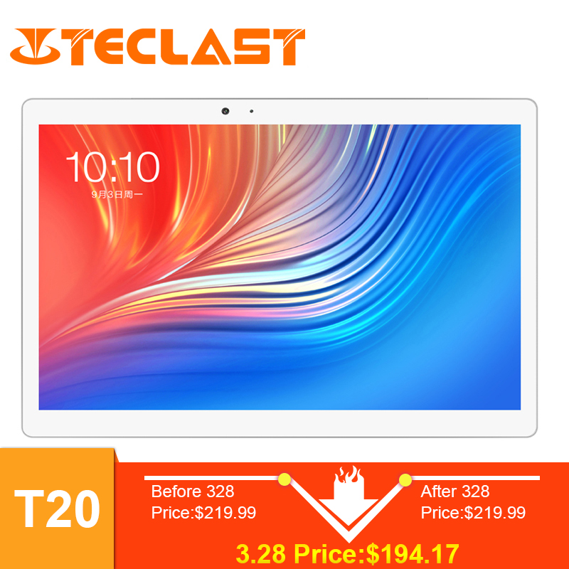 Teclast T20 Fingerprint Tablet PC MT6797 X27 Deca Core 4GB ROM 64GB RAM  4G Network 13.0MP 10.1 inch 2560*1600 GPS Android 7.0(China)