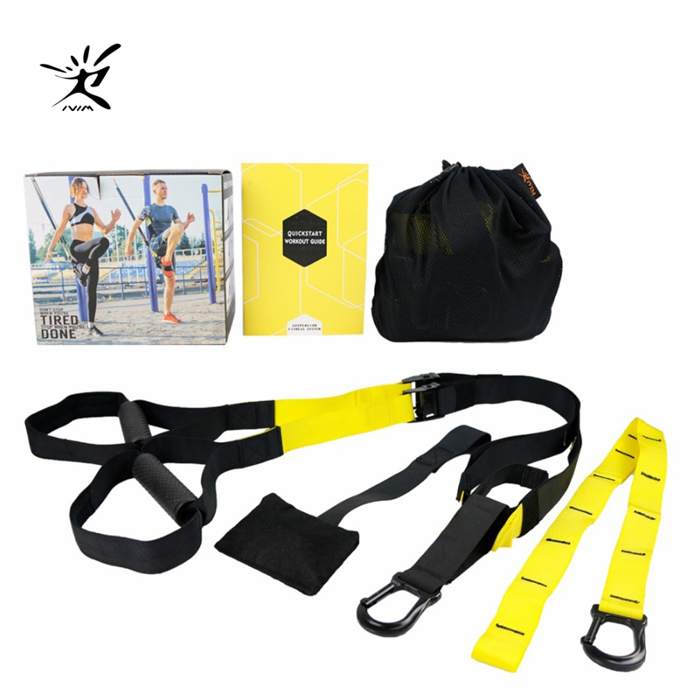 Resistance Bands Sport Equipment Strength Trainer Belt Fitness Equipment Spring Exerciser Workout Crossfit Exercise Equipment rip trainer high quality resistance bands crossfit fitness exercise equipment gym rip trainer basic kit stick fitness rope