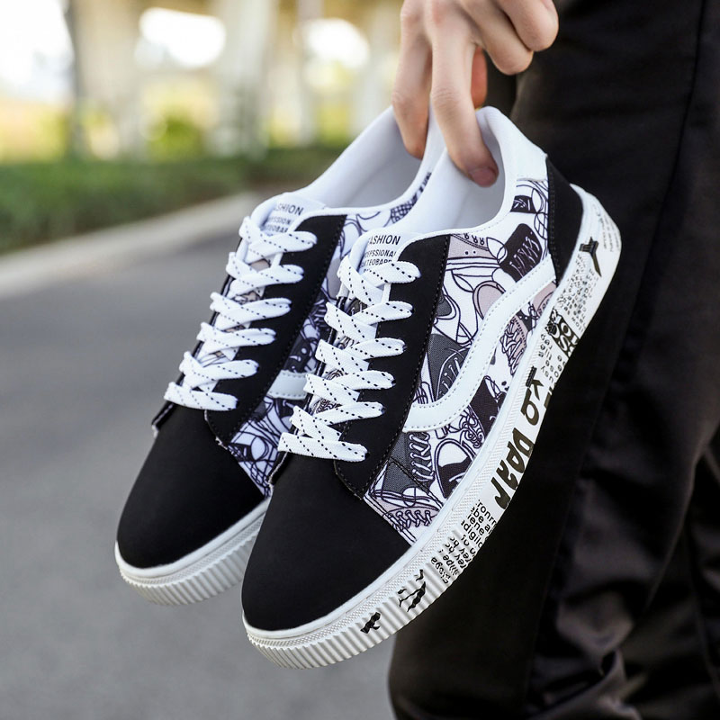 Men Shoes Skateboarding Shoes Big Size 47 leather Sport Sneakers Outdoor Athletic Man Or Women Unisex Breathable Shoes Lace up 2