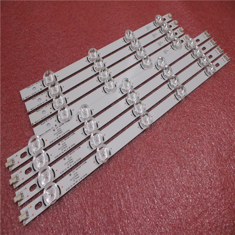 New 8 PCS/set LED Backlight Strips Bars Replacement For LG 39LN540V 39LN570V Innotek HC390DUN POLA2.0 39 A B Pola 2.0 39 Inch