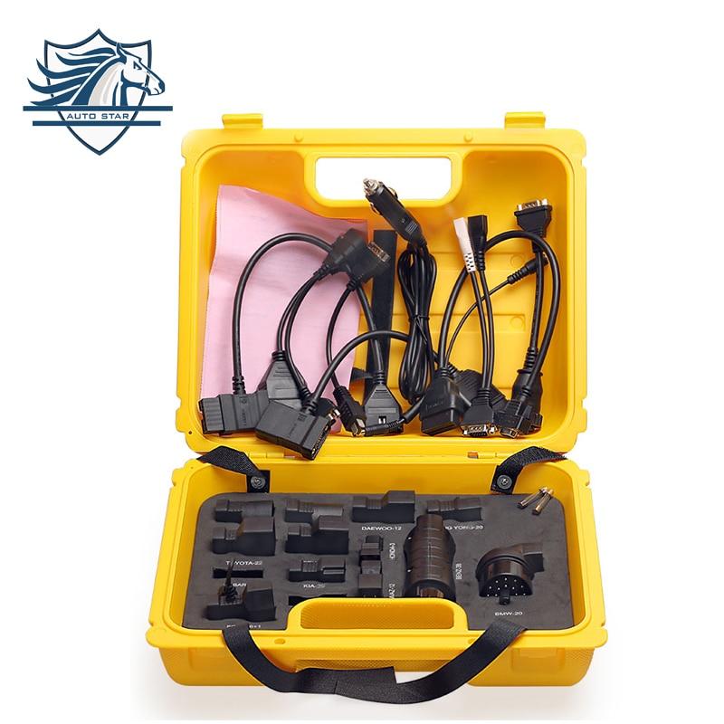20 pcs Lancement X431 Connecteur Adaptateur Câble Pour Diagun IV X431 V Pad Pad2 Pad3 Idiag Easydiag Mdiag Jaune Boîte outil de Diagnostic OBD