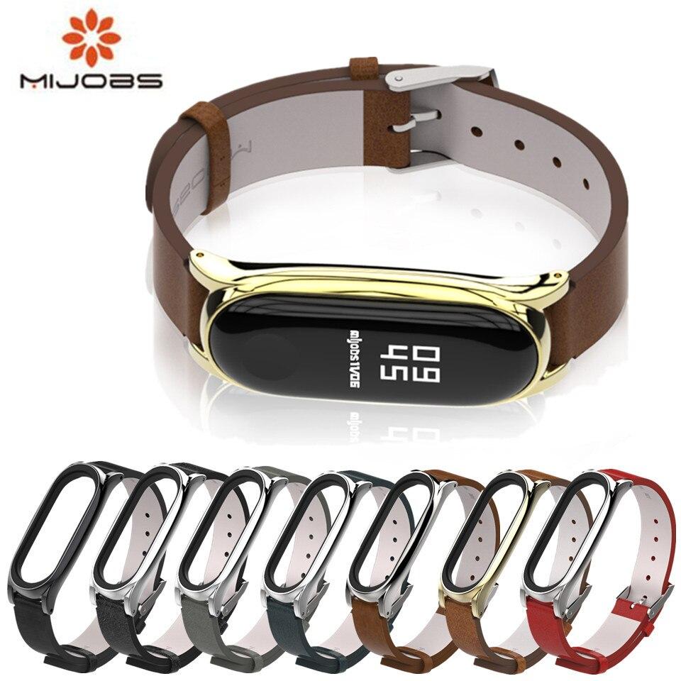 Mi jobs PU Handgelenk Gurt für Xiao mi mi band 3 Armband Armband mi band 3 Armband Smart Uhr mi band3 Correa mi 3 Zubehör