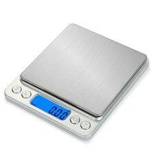 Высокая точность 200/500 г/0,01 г 1000/2000 г/3000 г/0,1 г Мини светодиодный карманный портативный точность ювелирной шкалы электронные весы грамм FBE2
