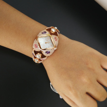Luxury Designer Jewelry Crystal Watch
