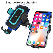 10W QI Wireless Car Charger Gravity Air Vent Phone Holder Stand Fast Charging for iPhone 8 Plus X XS Max XR Samsung S9 S8 S7 S10 raxfly magnetic car phone holder for iphone xs max xr xs x 8 7 plus 6s car phone holder smartphone for samsung s10 s9 s8 plus s7