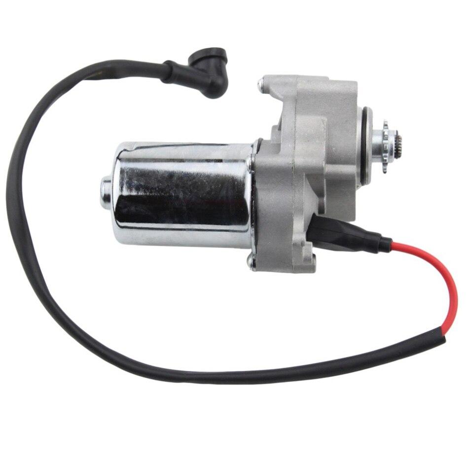 Electric Starter Motor 2 Installation Holefor Atvmotorcyclepit Meerkat 50cc Atv Wiring B070 005 005a