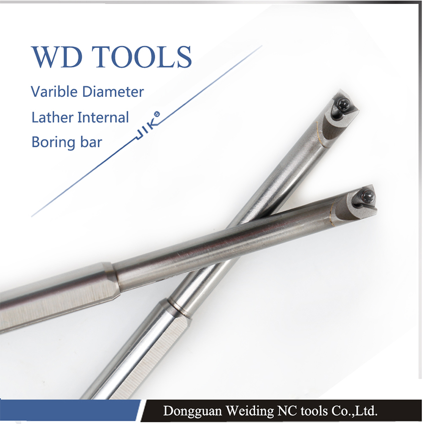 Diâmetro 4mm-8mm SCLCR03 varible lâmina de metal duro de corte Torno CNC Interno ferramenta gira titular Parafuso completo ferramentas de torneamento interno