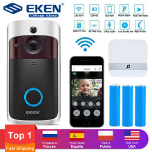 Smart IP Video Intercom WIFI Video Deurtelefoon Deurbel WIFI Deurbel Camera Voor Appartementen IR Alarm Draadloze Beveiliging Camera(China)