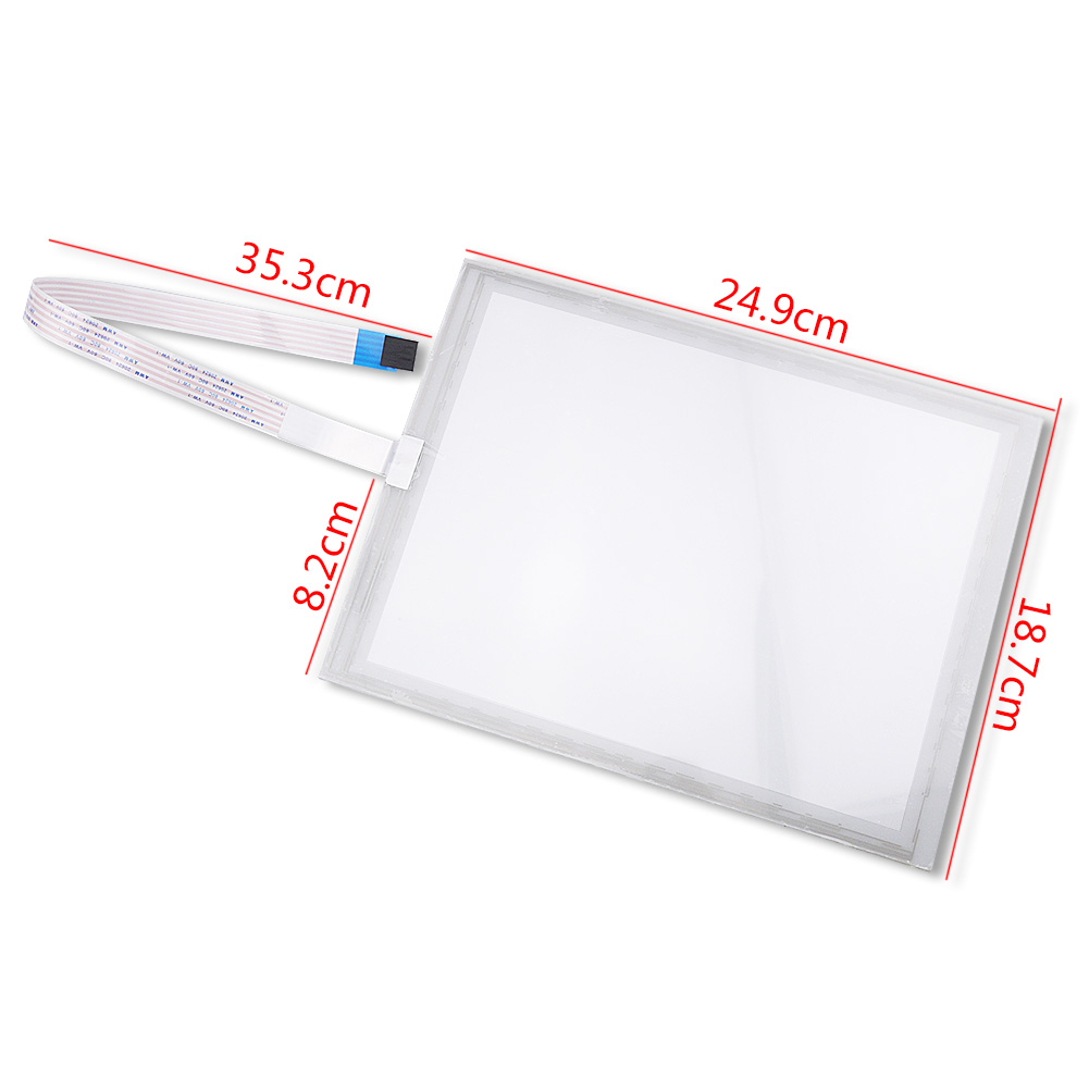 Original For 10.4 Inch 249*187mm Industrial Touch Screen ELO SCN-A5-FLT10.4-Z02-0H1-R E427156 Digitizer Replacement hgh20ca slider block hgh20 ca match use hgr20 linear guide for linear rail cnc diy parts