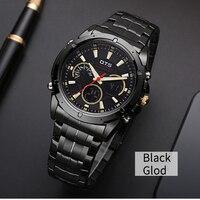 OTS 2016 Luxury Brand Watch Men Business Casual Wristwatch Full Steel Military Sport Relogios Masculinos Digital