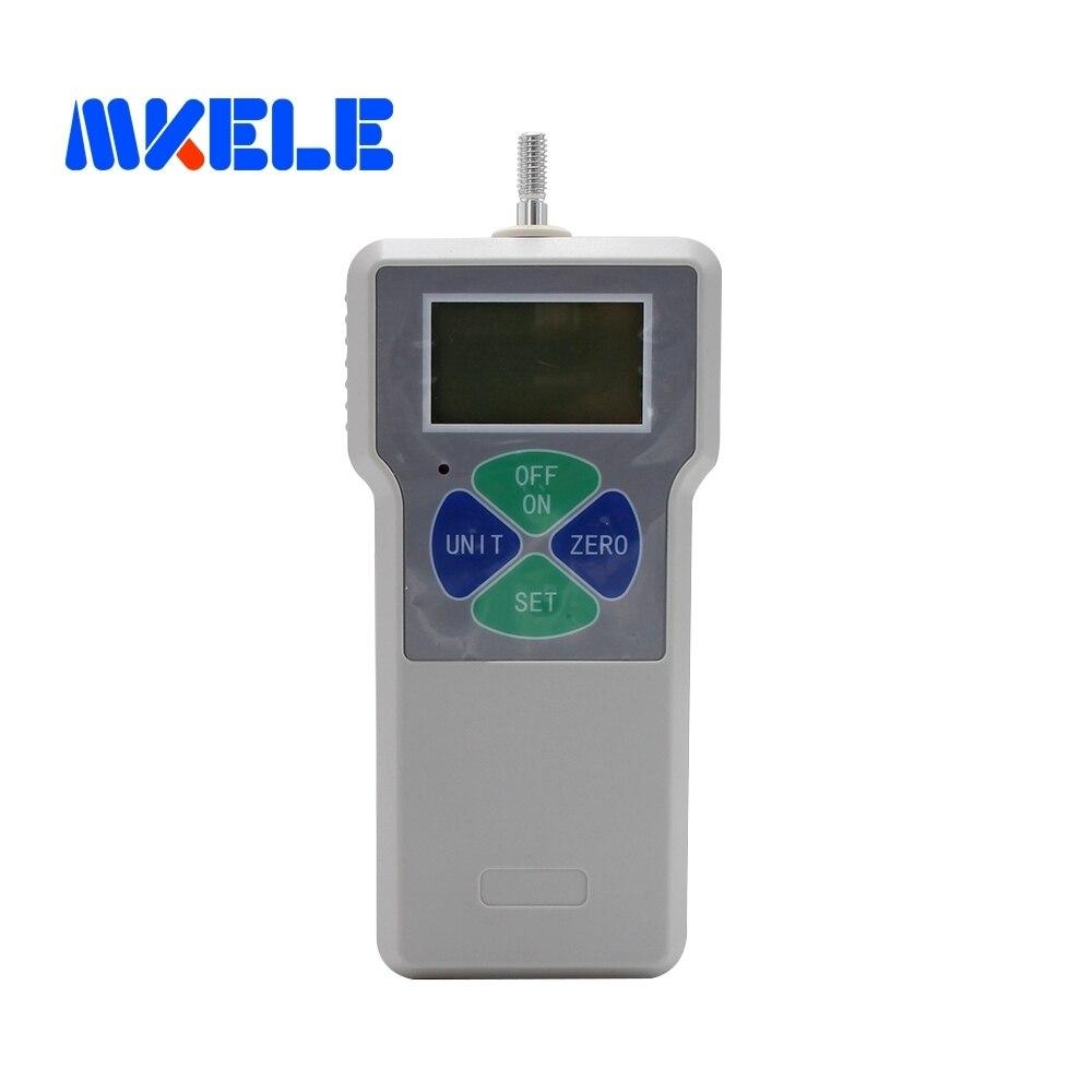 500N/50 kg/110Lb Outils De Mesure Protable Économique Numérique Push Pull Force Gauge Mètre Dynamomètre