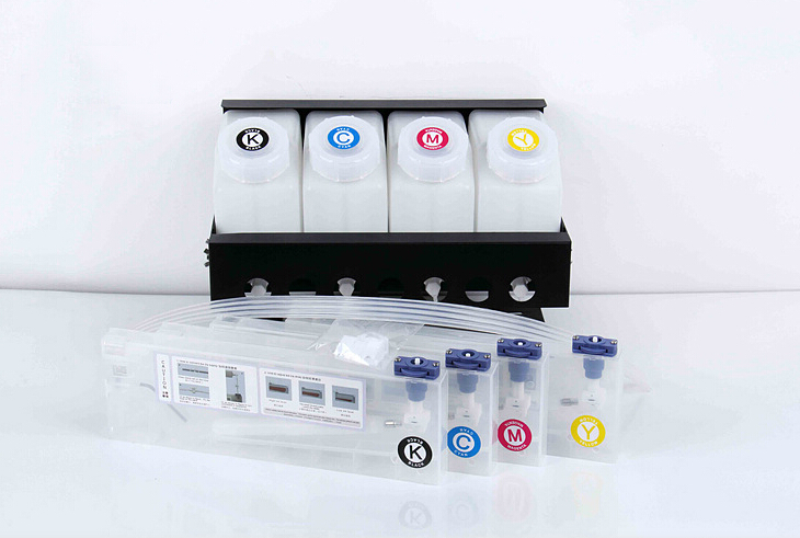 4 color bulk ink system without chip for Roland VS640/540/420/300 RA640 printer roland xf 640 wiper holder 1000010211