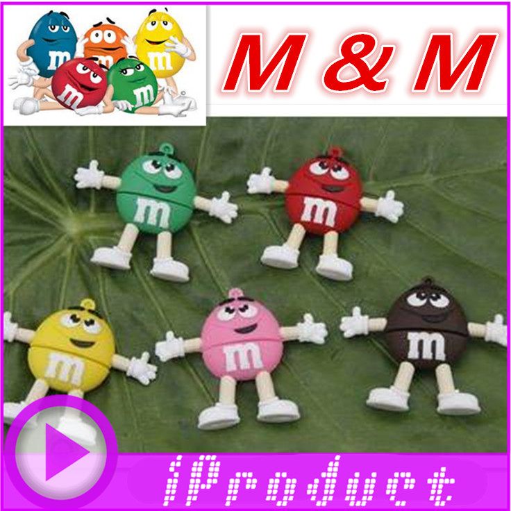 USB M&M USB m&m chococlate smarties chocolate american america sweets small bags gift candy u disk flash drive gift 4G~32G-in USB Flash Drives from Computer ...