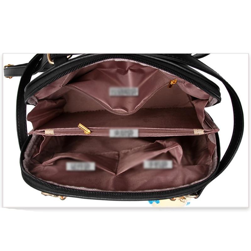 2e98795770 ... Leather Backpacks Bolsas Mochila Feminina Large Girls Schoolbag Travel  Backpack Solid Candy Color Female Backpacks C1137 o. 45% Off. 🔍 Previous.  Next