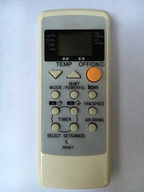Aliexpress com : Buy New Replacement For Panasonic Air Conditioner A75C2458  A75C2450 For Rasonic A75C2308 For National A75C2287 Remote Control from