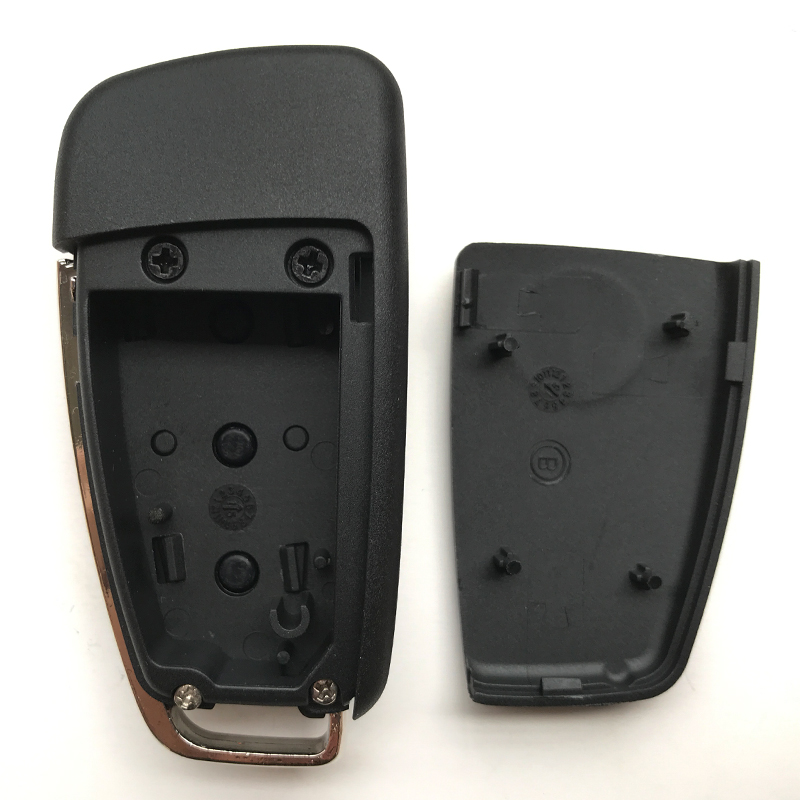 Image 5 - 3 Buttons For VW VolksWagen Skoda Seat Bora For AUDI A6 For Pasha Replacement Car Remote Key Shell Case Flip Folding Key Fob-in Car Key from Automobiles & Motorcycles