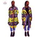 2017 Весна Новое Лето Африканских пальто Dashiki Африке Clothing Традиционных пальто 5xl выше колена Дизайн Одежды пиджаки хлопок WY927