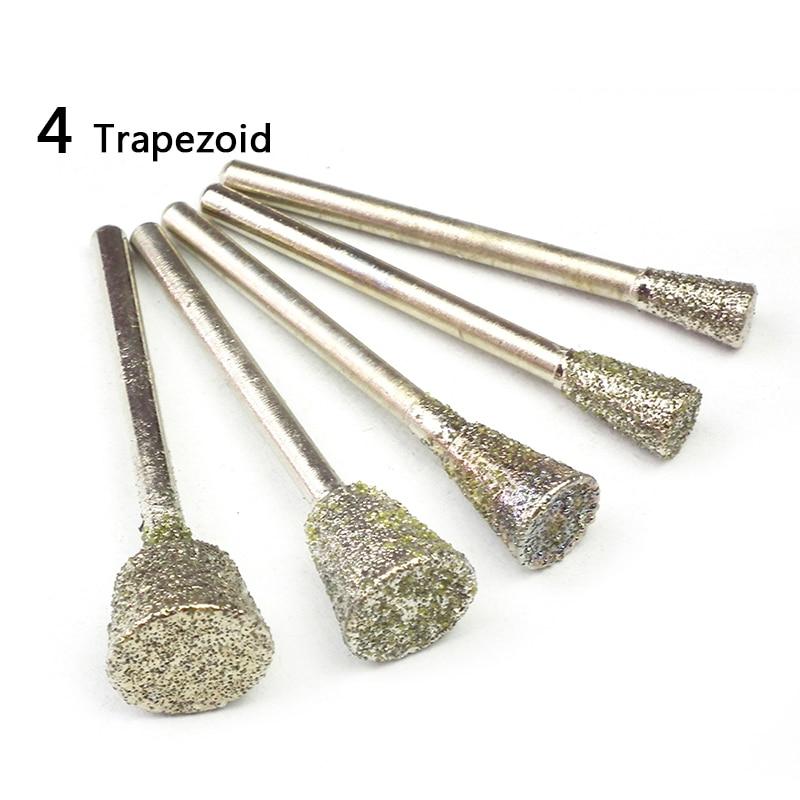 5бр кръгло диамантено шлифовъчно - Абразивни инструменти - Снимка 5