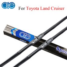 Oge 24''+22'' Wiper Blades For Toyota Land Cruiser 100 / 200 High Quality Rubber Windshield Windscreen Car Accessories