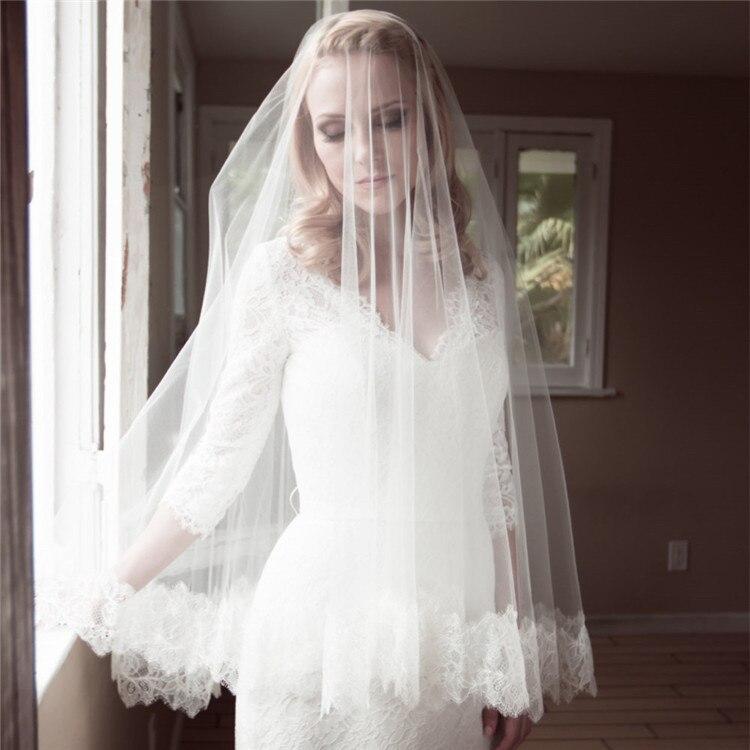 Online Get Cheap Beach Wedding Veil Aliexpress