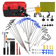 WEYHAA PDR Tools 21pc Rod Hooks Car Dent Repair Kit Lifter Paintless Tool Two Bags Removal For