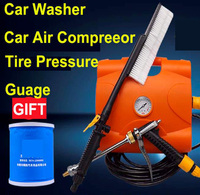 Car Air compressor Car inflator High Pressure Car Washer 12V Car Wash Machine New Arrival 3 in 1