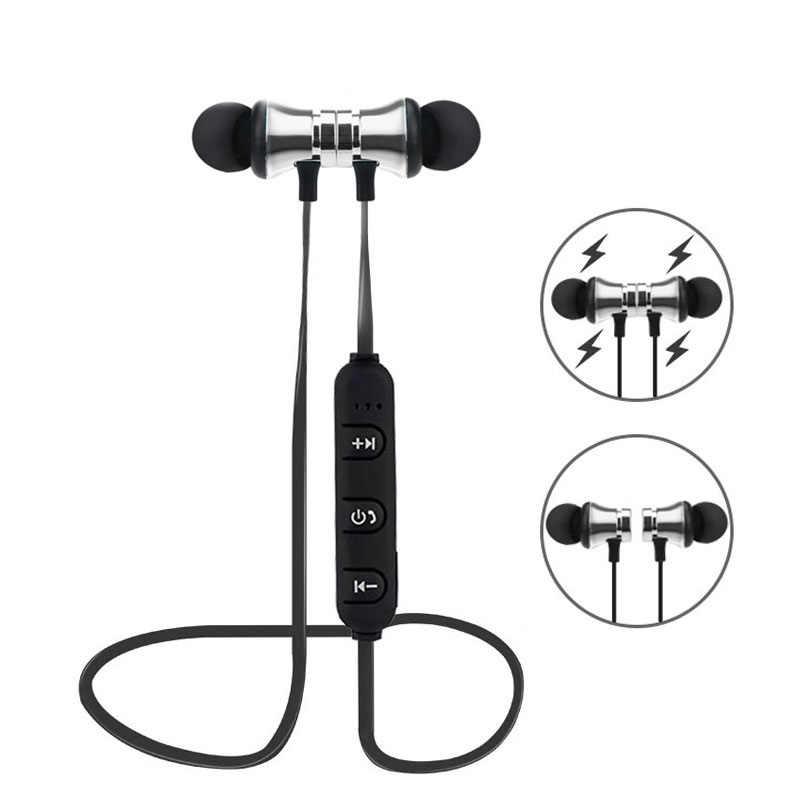 หูฟังกีฬาชุดหูฟังหูฟังสำหรับ Huawei Honor ดู 10 V10 V9 V8 10 9 8 Pro 9 Lite 9i 9N หูฟังไร้สายบลูทูธ
