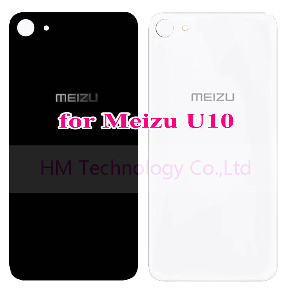 Original Battery Case for Meizu U10 5 0 Replacement Battery Back Door Cover Cases Adhisive Strips