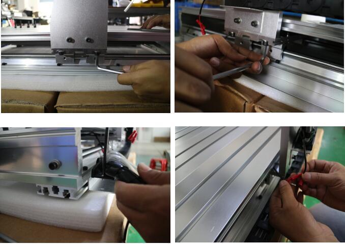 CNC 6040 frame 7