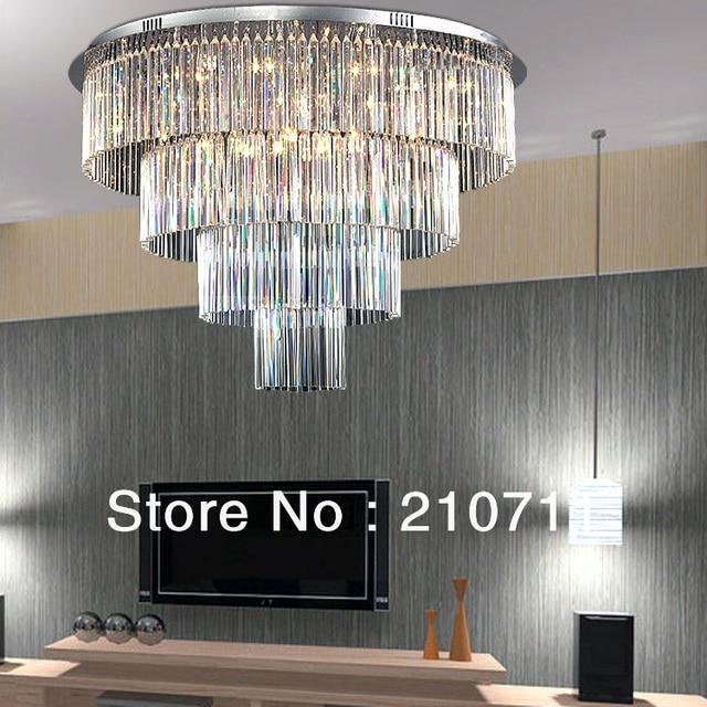 Luxe Moderne Lustre En Cristal Pour Salle  Manger Salon Plafond