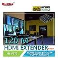 HSV373 (one Transmitter and two Receivers)] HDMI Extender 120m Over IP/TCP UTP/STP CAT5e/6 Rj45 LAN HDMI Splitter 1080p