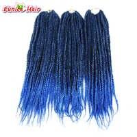 Afrikanische Frisur 2 Ton Ombre 3 S Box Zöpfe Haar Synthetische Flechten Kanekalon Crochet Zöpfe Haarverlängerungen 20 Strands/Pack
