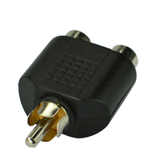GZGMET BNC Female To RCA Male AV Adapter Connector Security Camera Video Accessories 1 male 2 female av splitter connector